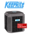 KeepRite Up to 18 SEER with 2-stage Cooling